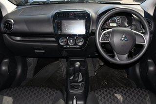 2021 Mitsubishi Mirage LB MY22 ES White 5 Speed Manual Hatchback