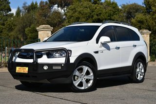 2013 Holden Captiva CG Series II MY12 7 AWD LX White 6 Speed Sports Automatic Wagon.