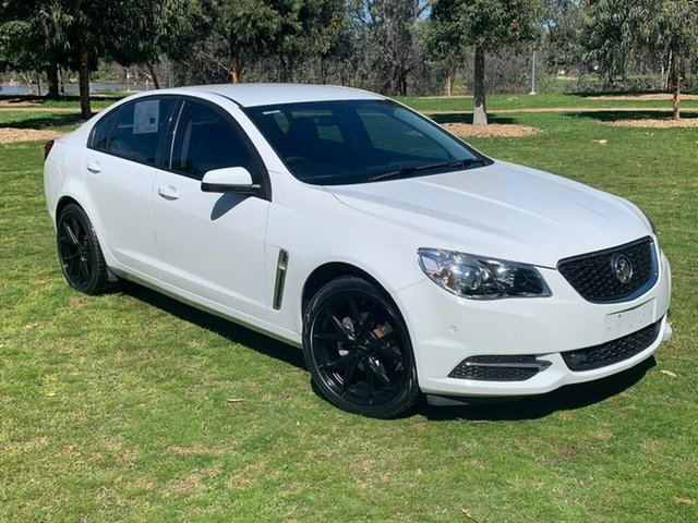 Used Holden Commodore VF II MY17 Evoke Wodonga, 2017 Holden Commodore VF II MY17 Evoke White 6 Speed Sports Automatic Sedan
