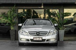 2011 Mercedes-Benz E-Class A207 E250 CDI BlueEFFICIENCY Avantgarde Silver 5 Speed Sports Automatic.