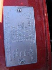 1978 Holden Premier HZ Red 3 Speed Automatic Sedan