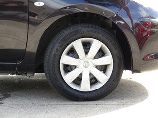 2011 Nissan Micra K13 ST Black Eye Purple 4 Speed Automatic Hatchback
