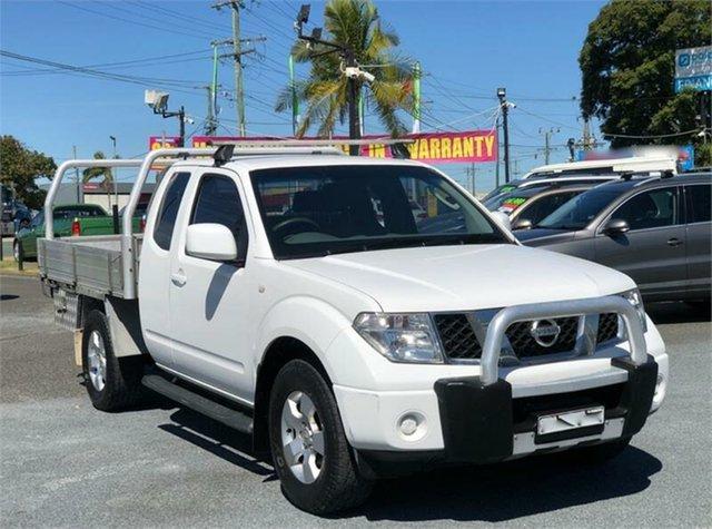 Used Nissan Navara D40 RX Archerfield, 2010 Nissan Navara D40 RX White 6 Speed Manual Cab Chassis