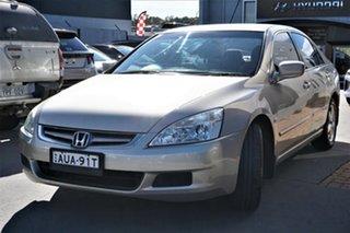 2005 Honda Accord 7th Gen VTi Gold 5 Speed Automatic Sedan