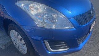 2016 Suzuki Swift FZ MY15 GL Blue 5 Speed Manual Hatchback.