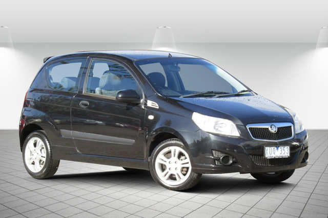 Used Holden Barina TK MY10 Oakleigh South, 2010 Holden Barina TK MY10 Abyss Black 5 Speed Manual Hatchback