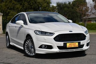 2015 Ford Mondeo MD Titanium White 6 Speed Sports Automatic Dual Clutch Hatchback.