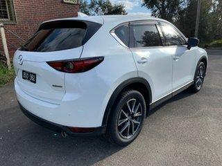 2020 Mazda CX-5 KF Series GT White Sports Automatic Wagon.