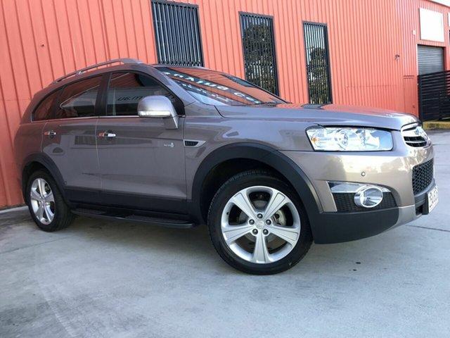 Used Holden Captiva CG MY13 7 AWD LX Molendinar, 2013 Holden Captiva CG MY13 7 AWD LX Bronze 6 Speed Sports Automatic Wagon