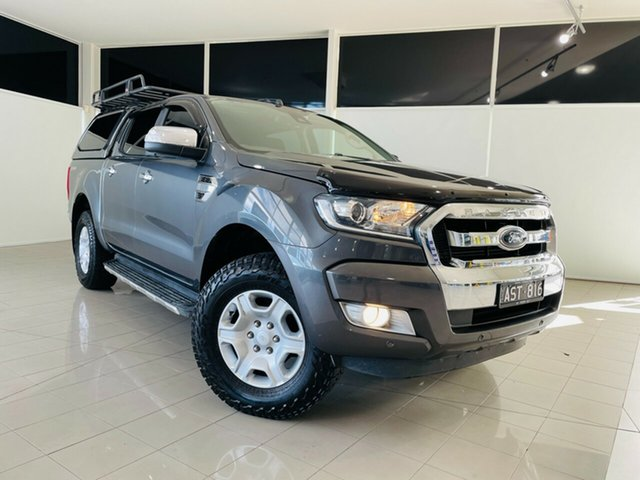 Used Ford Ranger PX MkII XLT Double Cab 4x2 Hi-Rider Deer Park, 2017 Ford Ranger PX MkII XLT Double Cab 4x2 Hi-Rider Grey 6 Speed Sports Automatic Utility