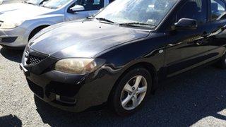 2008 Mazda 3 BK MY08 Neo Sport Black 5 Speed Manual Sedan.