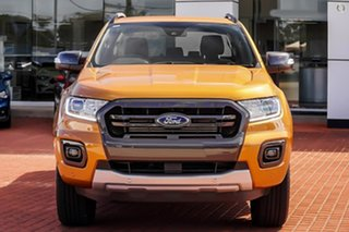 2021 Ford Ranger PX MkIII 2021.75MY Wildtrak Orange 10 Speed Sports Automatic Double Cab Pick Up.
