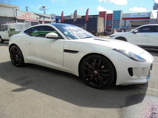 2015 Jaguar F-TYPE X152 MY16 Coupe White 8 Speed Sports Automatic Coupe