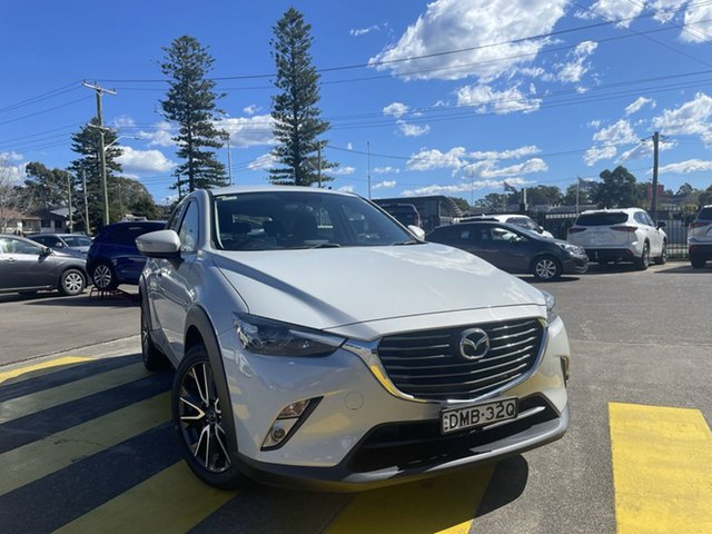 Used Mazda CX-3 DK2W7A sTouring SKYACTIV-Drive Cardiff, 2016 Mazda CX-3 DK2W7A sTouring SKYACTIV-Drive Cement 6 Speed Sports Automatic Wagon