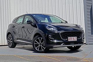 2020 Ford Puma JK 2020.75MY Puma Black 7 Speed Sports Automatic Dual Clutch Wagon.