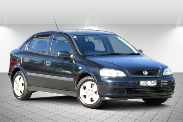 Used Holden Astra TS CD Oakleigh South, 2002 Holden Astra TS CD Abyss Blue 4 Speed Automatic Hatchback