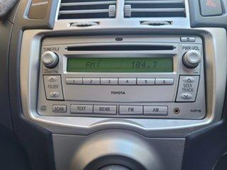 2008 Toyota Yaris NCP91R YRS Silver 5 Speed Manual Hatchback