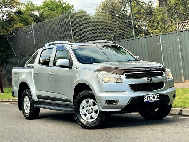 Used Holden Colorado RG MY16 LS-X Crew Cab Hyde Park, 2015 Holden Colorado RG MY16 LS-X Crew Cab Silver 6 Speed Sports Automatic Utility