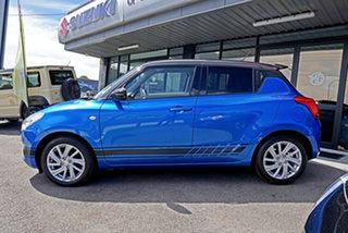 2021 Suzuki Swift AZ Series II GL Navigator Blue & Black 1 Speed Constant Variable Hatchback