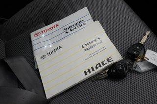 2010 Toyota HiAce KDH201R MY10 LWB White 5 Speed Manual Van