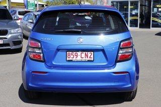 2017 Holden Barina TM MY17 LS Blue 5 Speed Manual Hatchback