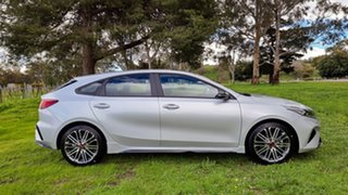 2021 Kia Cerato BD MY22 GT DCT Silky Silver 7 Speed Automatic Hatchback