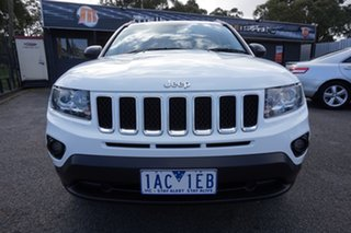 2013 Jeep Compass MK MY13 Sport CVT Auto Stick Bright White 6 Speed Constant Variable Wagon