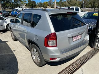 2012 Jeep Compass MK MY12 Limited CVT Auto Stick Silver 6 Speed Constant Variable Wagon