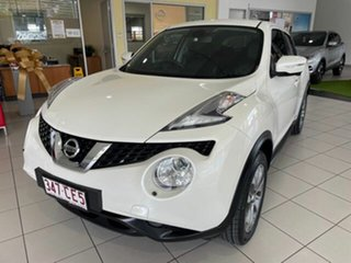 2017 Nissan Juke F15 Series 2 Ti-S X-tronic AWD White 1 Speed Constant Variable Hatchback.
