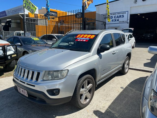 Used Jeep Compass MK MY12 Limited CVT Auto Stick Clontarf, 2012 Jeep Compass MK MY12 Limited CVT Auto Stick Silver 6 Speed Constant Variable Wagon