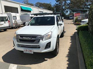 2017 Isuzu D-MAX MY17 SX Crew Cab White 6 speed Automatic Utility.