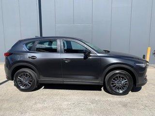 2021 Mazda CX-5 KF2W7A Maxx SKYACTIV-Drive FWD Sport Machine Grey 6 Speed Sports Automatic Wagon.