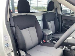 2021 Mitsubishi Triton MR MY22 GLX White 6 Speed Manual Cab Chassis