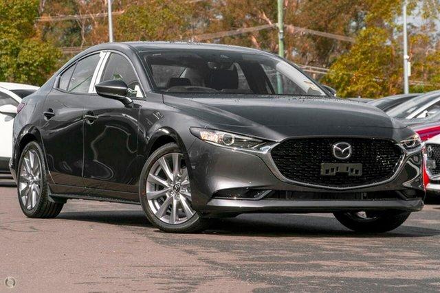 New Mazda 3 BP2S7A G20 SKYACTIV-Drive Touring Waitara, 2021 Mazda 3 BP2S7A G20 SKYACTIV-Drive Touring Grey 6 Speed Sports Automatic Sedan