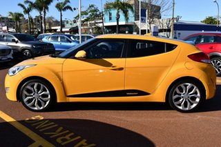 2014 Hyundai Veloster FS2 Coupe Yellow 6 Speed Manual Hatchback.