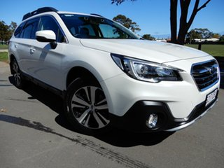 2019 Subaru Outback B6A MY19 2.5i CVT AWD White 7 Speed Constant Variable Wagon.