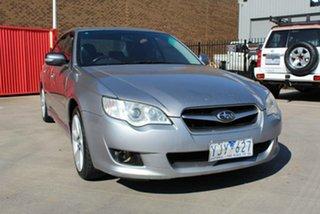 2008 Subaru Liberty MY08 2.5I Luxury Edition Silver 4 Speed Auto Elec Sportshift Sedan