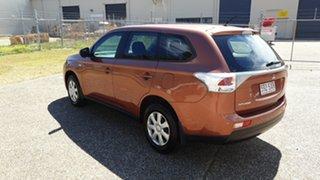2012 Mitsubishi Outlander Orange Wagon