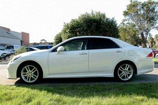 2010 Toyota Crown GRS204 Athlete White 6 Speed Automatic Sedan