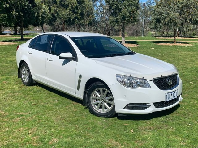 Used Holden Commodore VF MY14 Evoke Wodonga, 2014 Holden Commodore VF MY14 Evoke White 6 Speed Sports Automatic Sedan