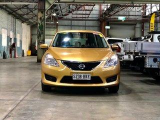 2013 Nissan Pulsar C12 ST Gold 1 Speed Constant Variable Hatchback.