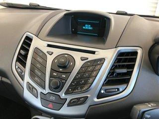 2013 Ford Fiesta WZ Trend PwrShift Orange 6 Speed Sports Automatic Dual Clutch Hatchback