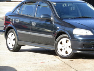 2002 Holden Astra TS CD Abyss Blue 4 Speed Automatic Hatchback.