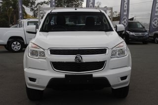2014 Holden Colorado RG MY14 LX 4x2 Summit White 6 Speed Manual Cab Chassis.