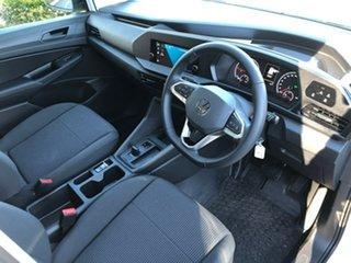 2021 Volkswagen Caddy SKN MY21 TDI320 Cargo SWB DSG White 7 Speed Sports Automatic Dual Clutch Van