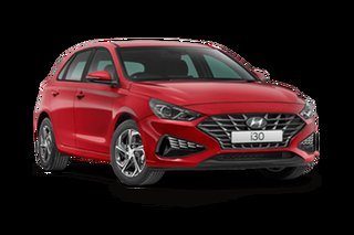 2021 Hyundai i30 PD.V4 i30 Fiery Red 6 Speed Manual Hatchback