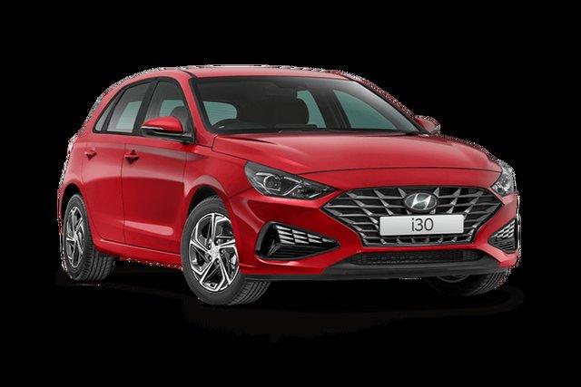 New Hyundai i30 Rutherford, 2021 Hyundai i30 PD.V4 i30 Fiery Red 6 Speed Manual Hatchback