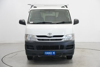 2010 Toyota HiAce KDH201R MY10 LWB White 5 Speed Manual Van.