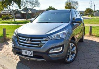 2014 Hyundai Santa Fe DM MY14 Highlander Silver 6 Speed Sports Automatic Wagon.
