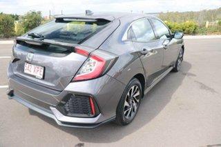 2017 Honda Civic 10th Gen MY17 VTi-S Modern Steel 1 Speed Constant Variable Hatchback